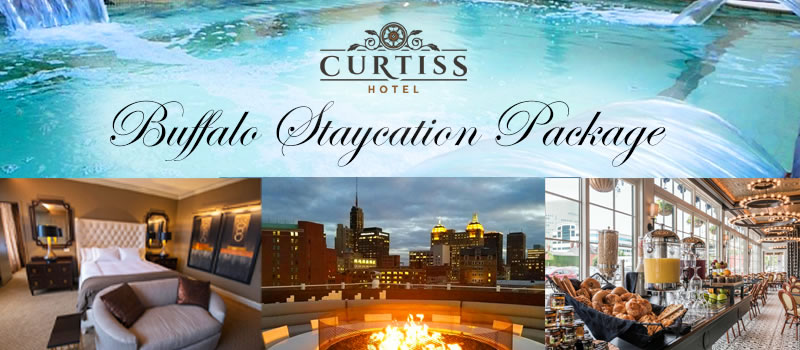 Staycation in Buffalo at Curtiss Hotell
